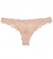 My Fit Lace Thong Brief