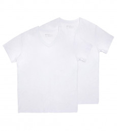 Men's Basic V-Neck Tee - Twin Pack
