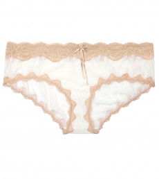 Mesh With Lace Hipster