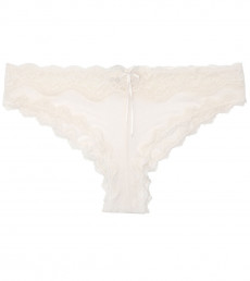 Mesh With Lace Cheeky Pant
